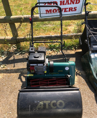 "Atco Clipper 20"" Cylinder Mower"